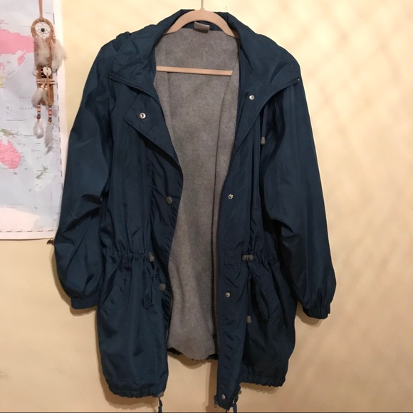 79524034 🚫Sold on Depop Warm rain coat